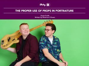 The Proper Use of Props in Portraiture - Free Quick Guide