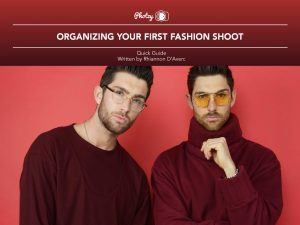 Organizing Your First Fashion Shoot - Free Quick Guide