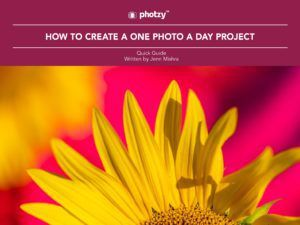 How to Create a One Photo a Day Project - Free Quick Guide