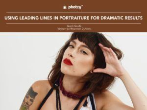 Using Leading Lines in Portraiture for Dramatic Results - Free Quick Guide