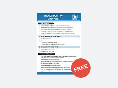 𝗕𝗢𝗡𝗨𝗦: Composition Rules and Tools Checklist. Perfect for when you're shooting in the field. Print it out, toss into your camera bag and go ($10 Value 𝗙𝗥𝗘𝗘 𝗧𝗢𝗗𝗔𝗬!)